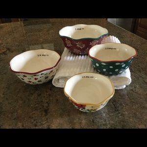 The Pioneer Women Nesting Measuring Bowls NEW